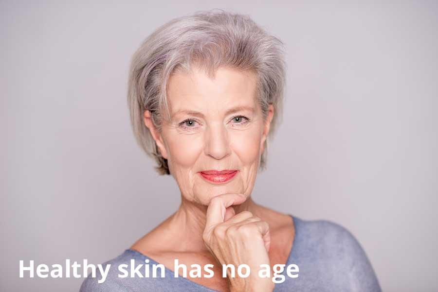 Healthy Skin Has No Age